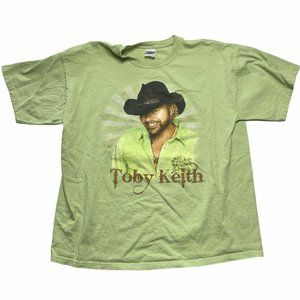 Toby Keith Band T-Shirt Size XL Biggest & Baddest